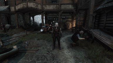 Geralt in my new playthrough (v19.7.x)