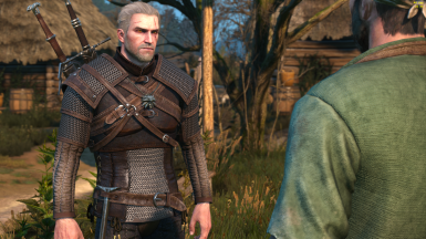 Geralt from VGX 2013 (Face Remodel and Retexture)