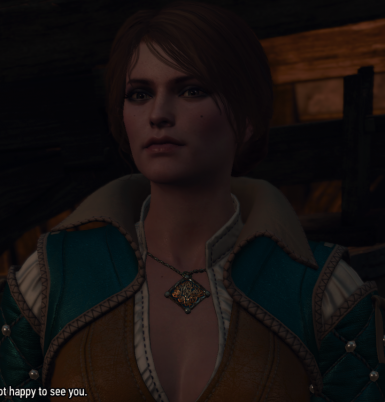 Triss looks dumb but anarietta looks neat so I made triss look like anarietta