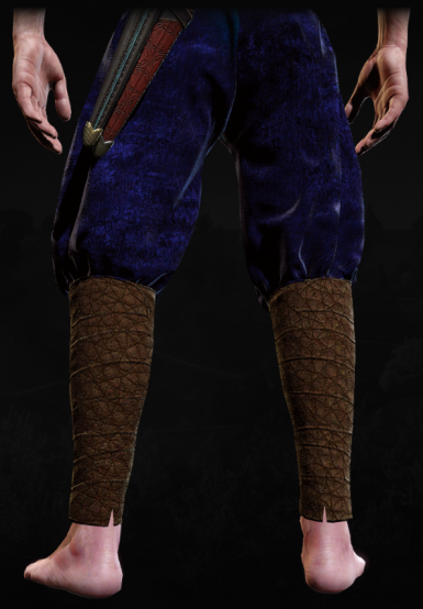 Blue and Leather Retexture for DLC Undvik Trousers