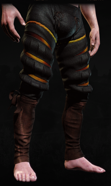Forest and Fire Retextures for Toussaint Ducal Guard Pants