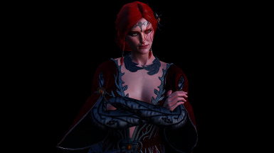Triss Red Dlc Dress.