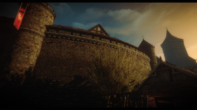 Witcher 2 Bricks and Roofs