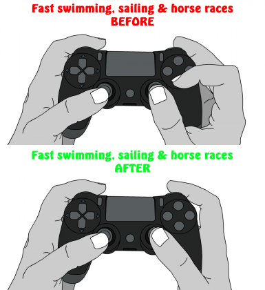 Comfortable Controls (No More Cramps)