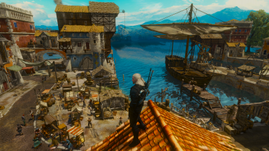 Increased Draw Distance for Toussaint