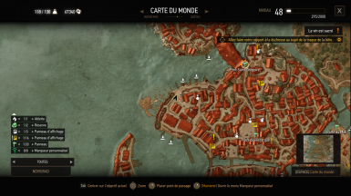 Exact location for the test in Novigrad