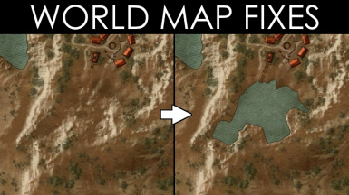 World Map Fixes