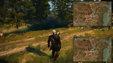 World Map Fixes at The Witcher 3 Nexus - Mods and community