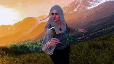 Ciri Casual Outfit (Both Player and NPC)