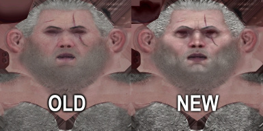 Character faces improved