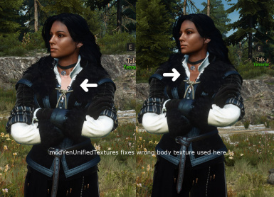 Yennefer Unified Textures