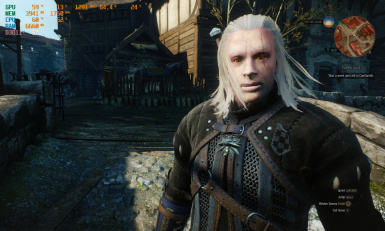 new face for geralt more nekrom