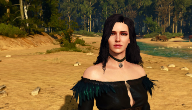 encoded hairworks: published yennefer example