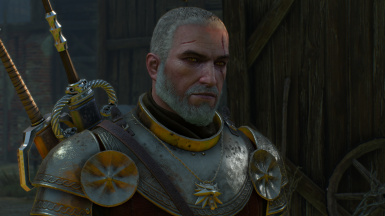Short Hair Geralt At The Witcher 3 Nexus Mods And Community