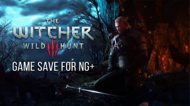 The Witcher 3 Game Save for New Game Plus - Level 61 - All Quests Done.