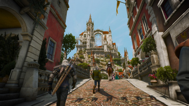 Morning stroll in Beauclair