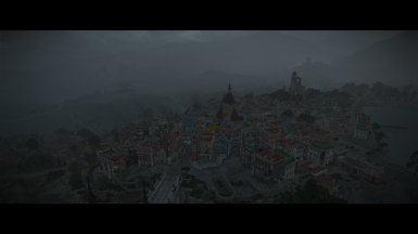 A rainy evening in Beauclair