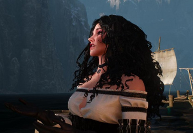 Book Yennefer's Wild and Curly Hair