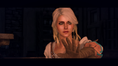 Ciri's face reworked