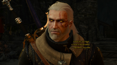 Lore-friendly Geralt