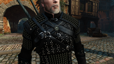 The Witcher Netflix Armor