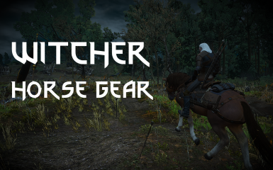 Witcher Horse Gear at The Witcher 3 Nexus - Mods and community
