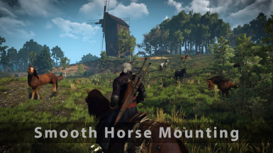 Smooth Horse Mounting