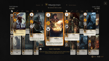 Nilfgaardian Empire Deck Preview (1/2)