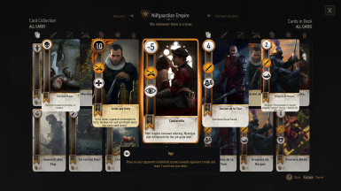 Nilfgaardian Empire Deck Preview (2/2)