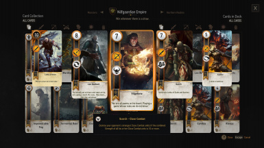 Nilfgaardian Empire Deck (1/2)