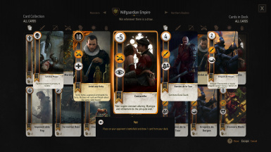 Nilfgaardian Empire Deck (2/2)