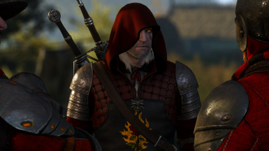 Red Hood from the More Robes/Shields mod