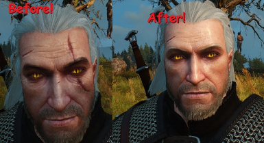 Younger Less Scarred Geralt - Requested by Lazarus187
