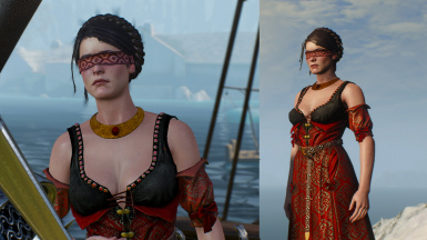 Philippa Eilhart New Hair and Outfit
