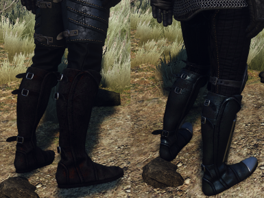 Fixed boots