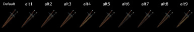 Scabbards for VGX Swords