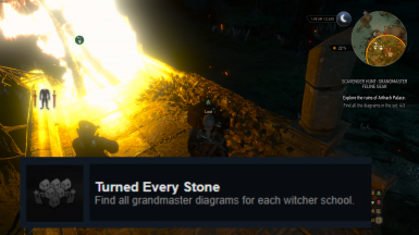 'Turned Every Stone' Achievement Save - All Grandmaster Diagrams