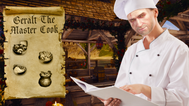 Geralt The Master Cook