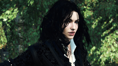 Lore friendly face and eyes for Yennefer