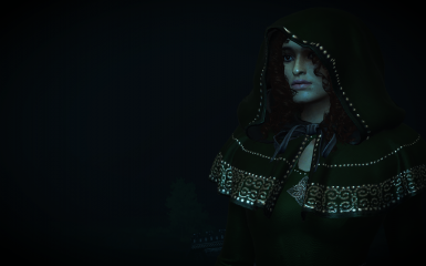 casual green gown addon