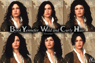 Book Yennefer's wild and curly hair - Reworked -