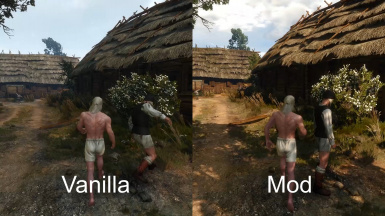 NPCs do not collide with Geralt when he is walking but do collide when he is running. Also NPCs do not collide when they walking but not all the time.