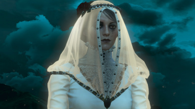 Iris as the Lady in White
