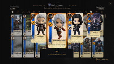 Gwent Cards PNG Repository