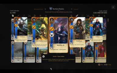 Gwent Cards and Attributes