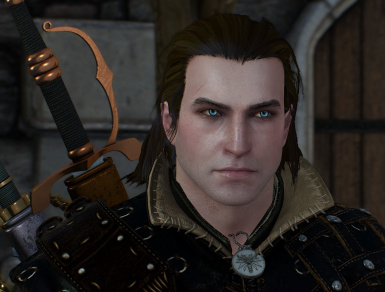 Blue eyes for Geralt