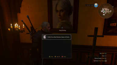 Ciri Portrait 02 on Wall and Thumbnail Correctly Updated