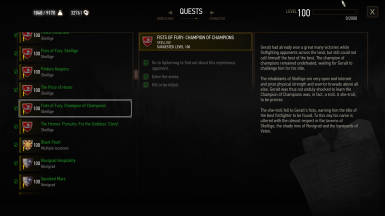 Sidequests' and treasure hunts' journal entries fixes