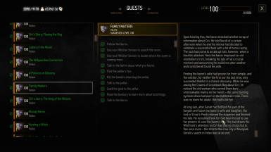 Journal entries fixes - Dlcs and expansion packs and part 1 quests
