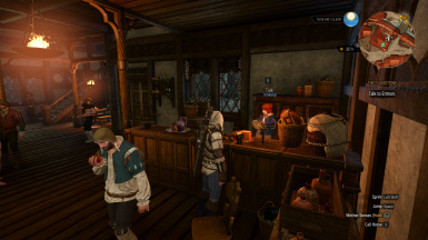 Fixed - Ending Dialogue Geralt and Innkeep Are Properly Placed